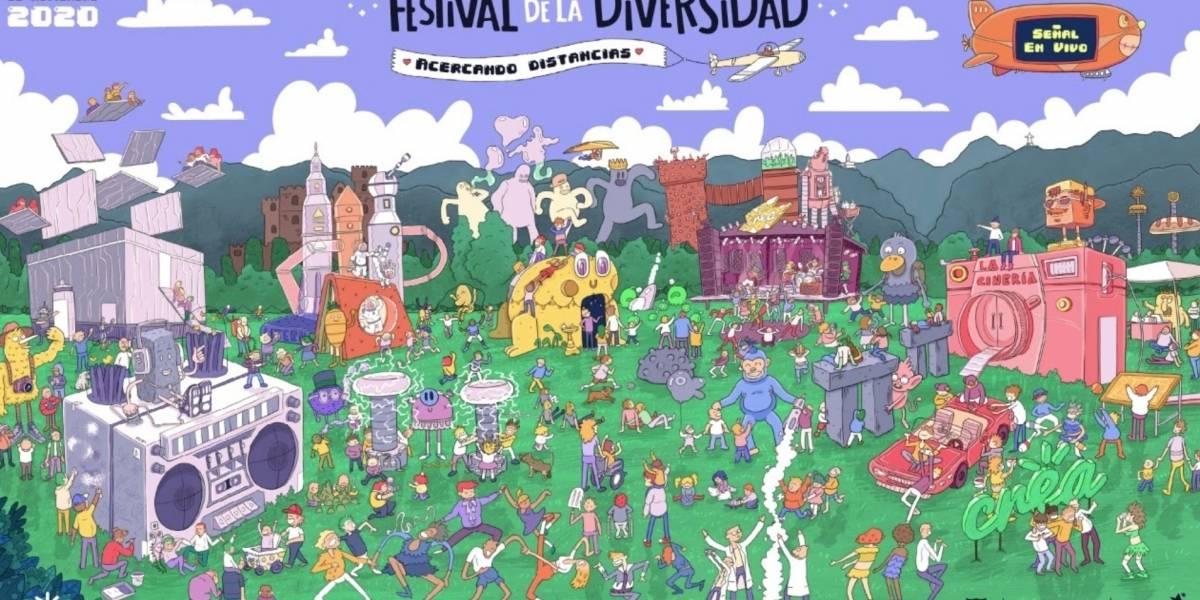 El 'Festival de la Diversidad Crea' celebra una nueva versión que este año será digital