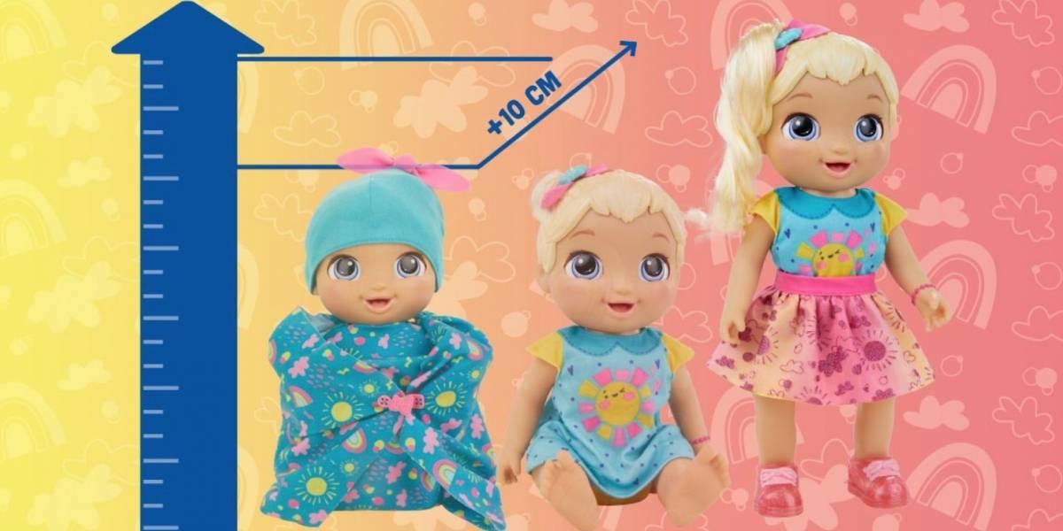 ¿Te imaginas una muñeca que crece de verdad? ¡Te contamos todo lo que debes de saber acerca de Baby Grows Up!