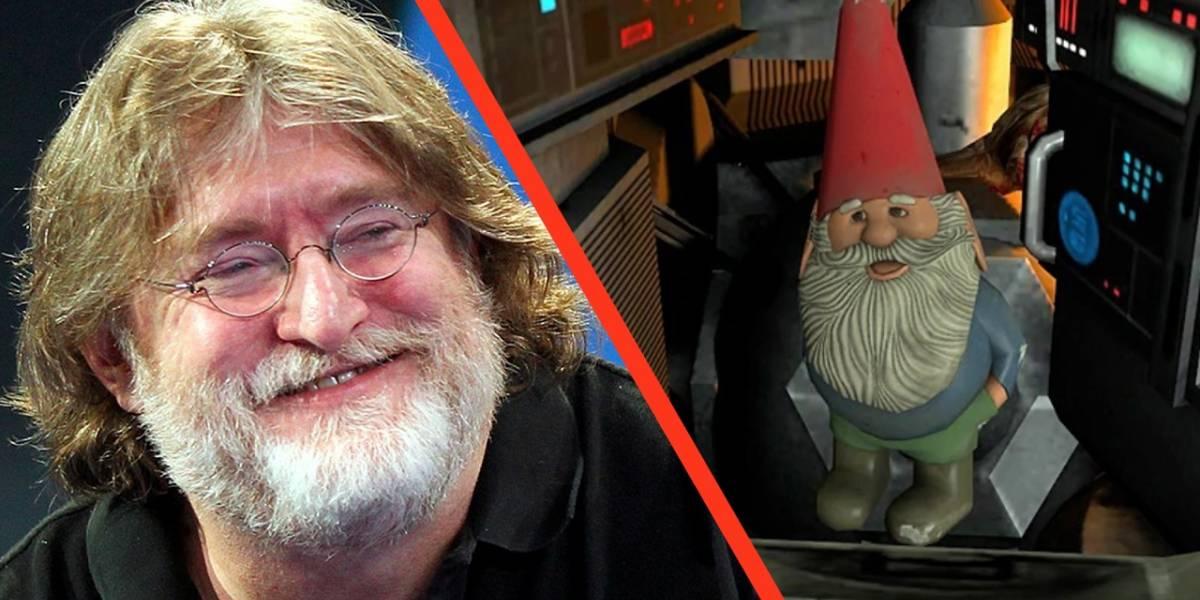 Videojuegos: Gabe Newell de Steam, mandará un gnomo de jardín al espacio