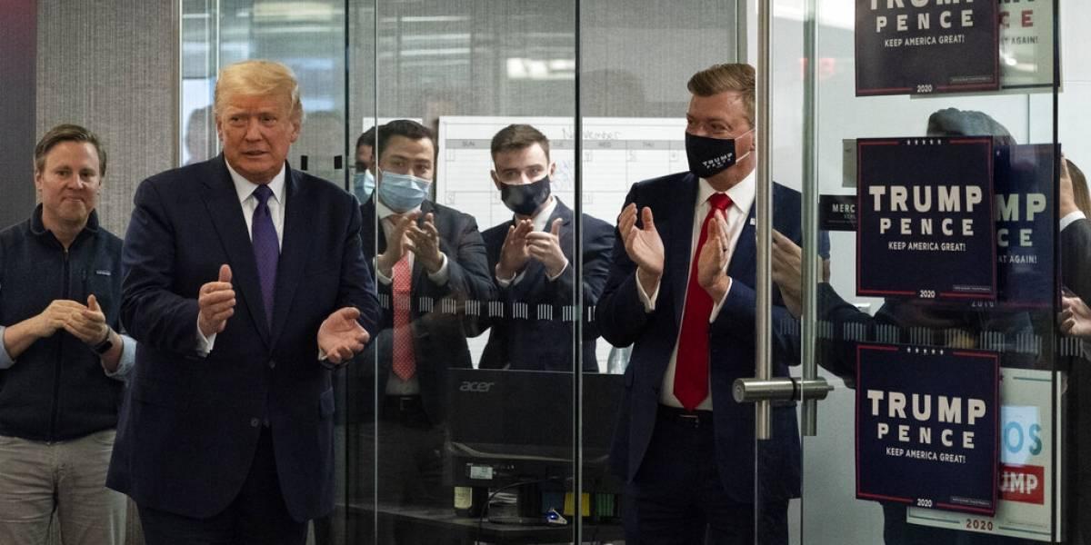 Trump anticipa su victoria, pero reconoce que puede perder