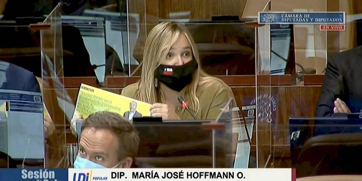 """Diputada Hoffmann estalló tras acusación de exministro Pérez: """"Por favor, que rasquería"""""""