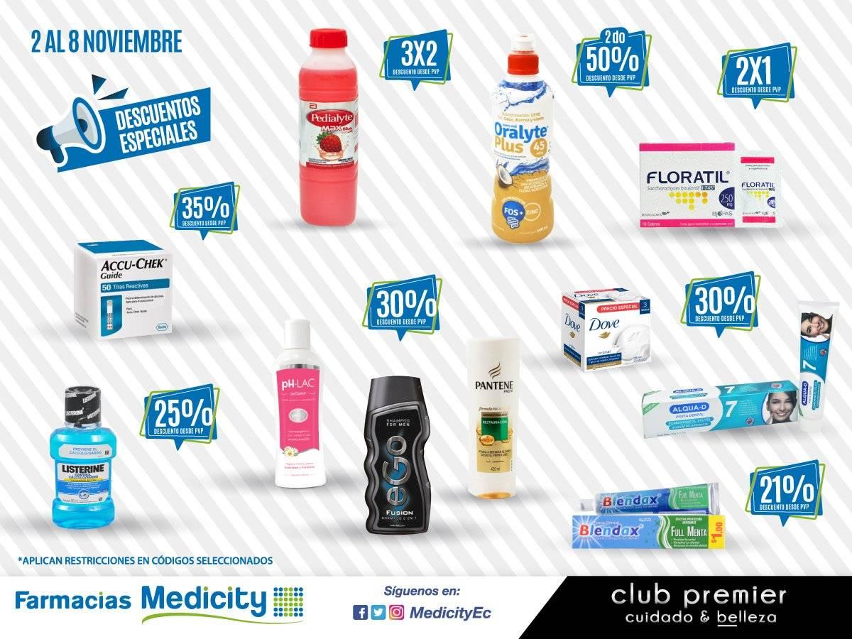 Promociones Medicity del 2 al 8 de noviembre de 2020