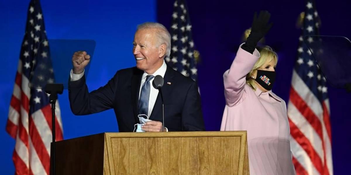 Biden le pasa a Trump en Georgia y se acerca en Pensilvania