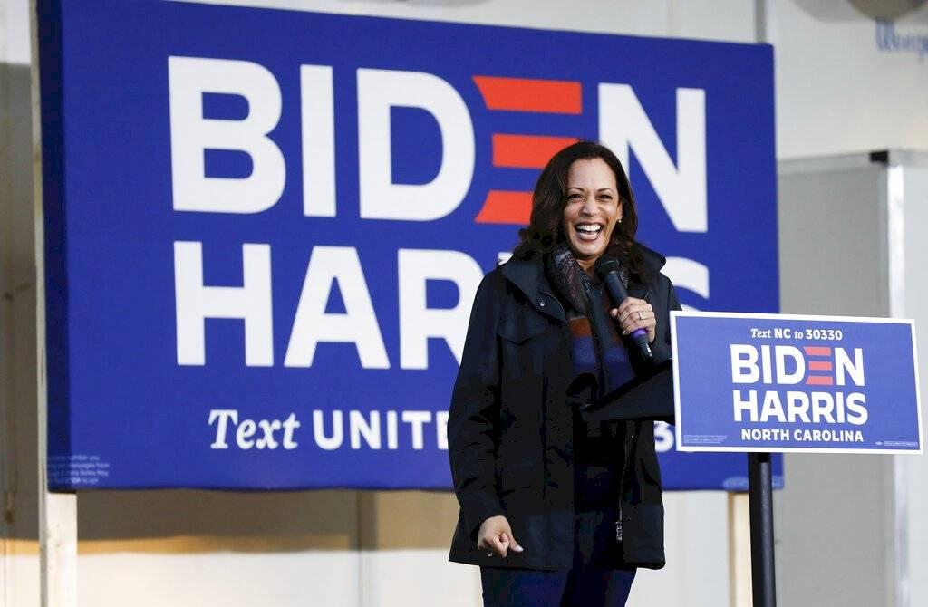 El 11 de agosto de 2020, Joe Biden la nominó como su compañera de fórmula, convirtiéndola en la primera mujer afroamericana y sur asiática estadounidense en postularse para la carrera presidencial de un partido político importante.