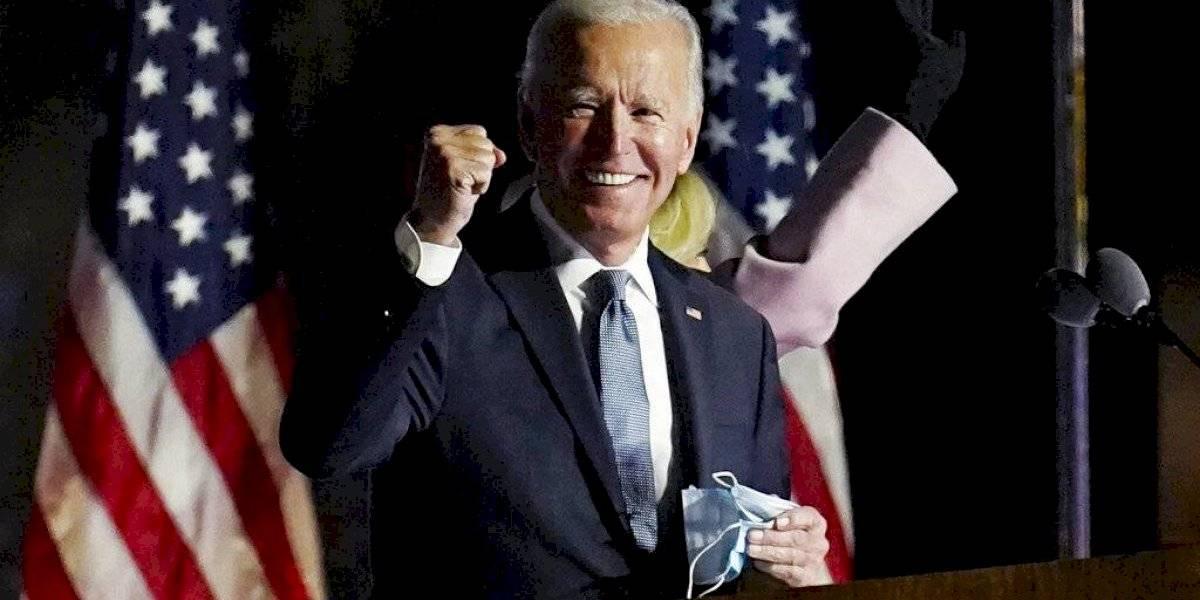 La emotiva fotografía con que la nieta de Joe Biden celebró el triunfo de su abuelo