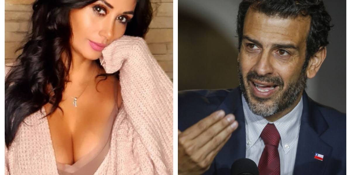 """El día que Pamela Díaz reconoció un """"romance"""" con el nuevo ministro del Interior Rodrigo Delgado"""