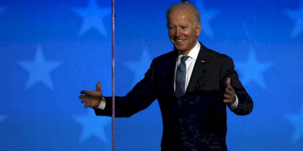 """""""No descansaremos hasta que se cuente el voto de todos"""": Biden"""
