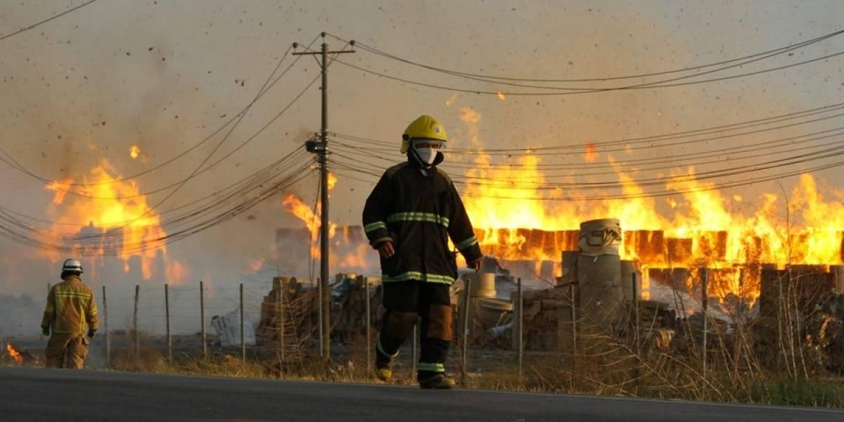 13 incendios se registraron durante el feriado del 2 y 3 de noviembre, dice el ECU 911