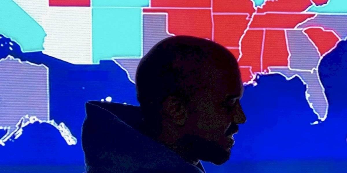 Kanye West sacó casi mil votos y promete candidatura en 2024