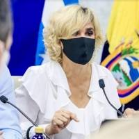 Cynthia Viteri advierte que si suben casos de Covid-19 en Guayaquil habrá mayores restricciones