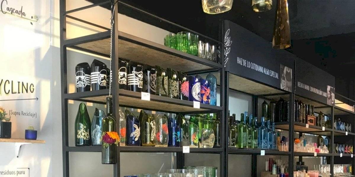 Conoce la tienda que inspira y enseña sobre el reciclaje del vidrio