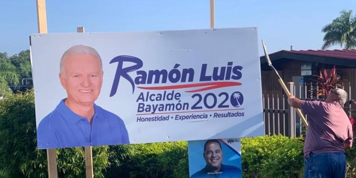 Bayamón comienza a retirar propaganda política al acabarse las elecciones