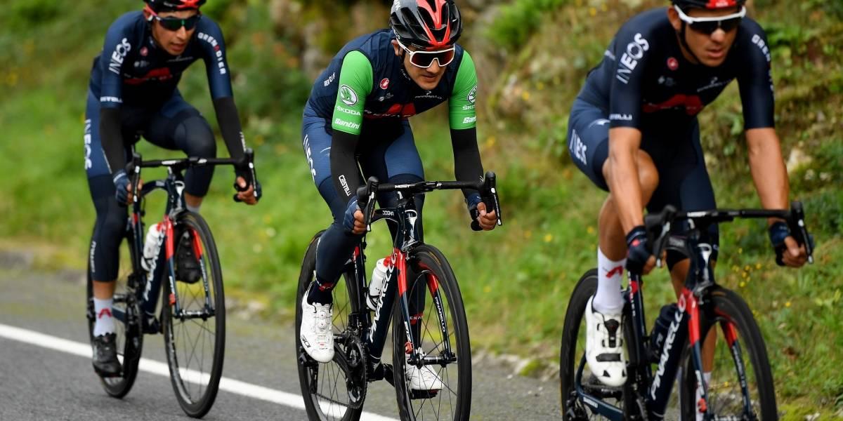 Richard Carapaz mantiene el segundo puesto de la general en la Vuelta a España