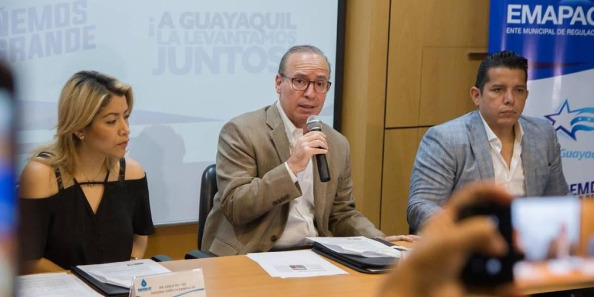 Guayaquil: Compensación para usuarios afectados por corte de agua potable