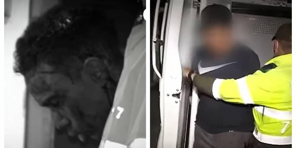 Golpean a ladrón que junto a menor asaltó e intimidó con cuchillo a mujer en Bogotá