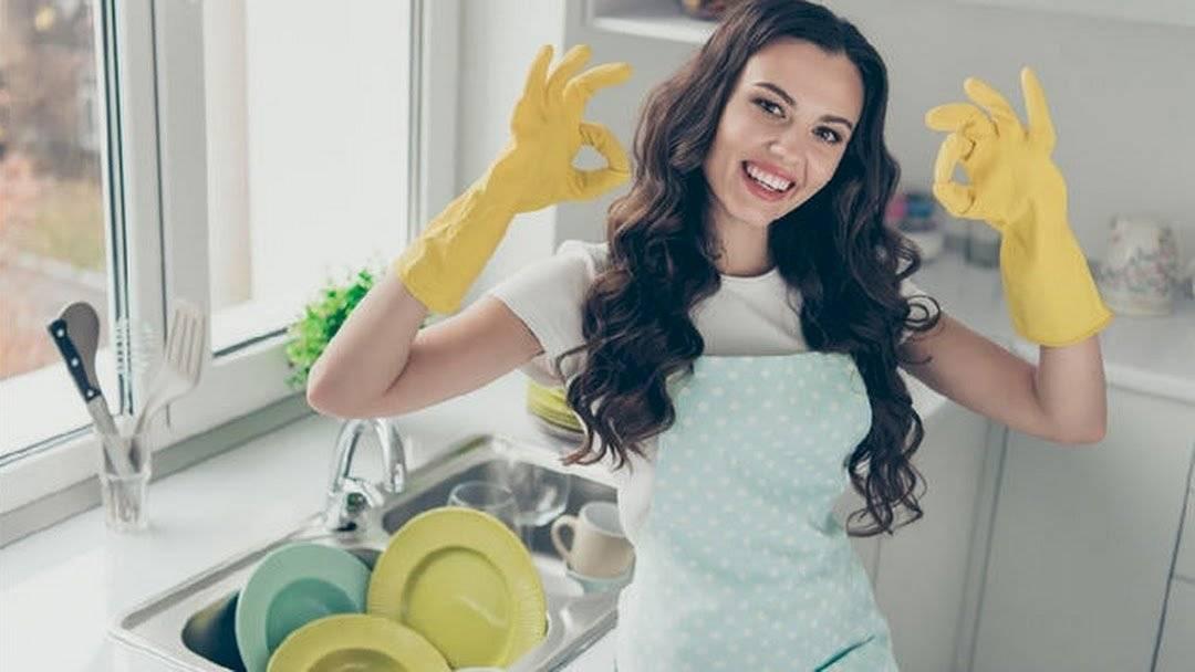 Lava los trastes después de comer