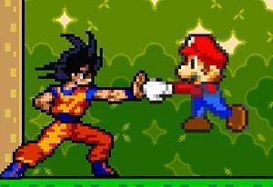 Mario y Goku