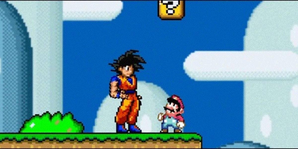 El anuncio comercial retro, de una marca surcoreana que fue capaz de juntar a Goku y Mario Bros