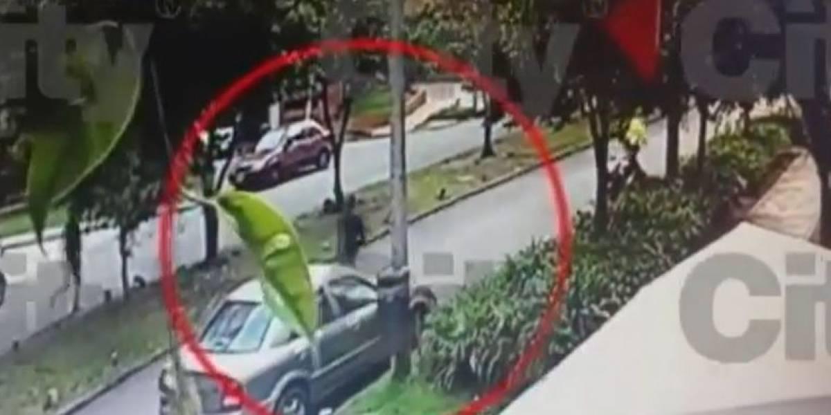 ¿Hombre que disparó contra ladrones cerca del Liceo Francés tiene salvoconducto?