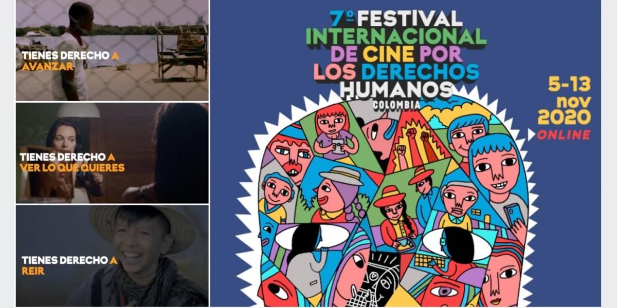 3 charlas para sintonizarse con el Festival de cine por los derechos humanos