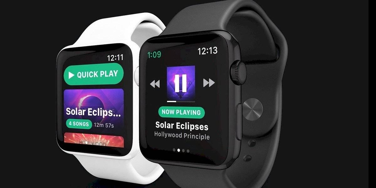 Spotify se libera en tu Apple Watch y por fin funciona sin el iPhone