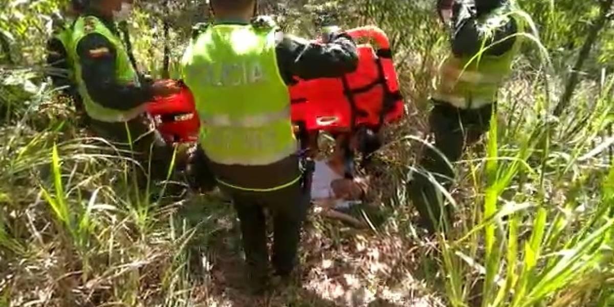 Deportista sufrió grave caída cuando intentaba bajar una montaña