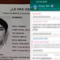 Difunden supuestos audios de alumno de Prepa 5 desaparecido tras broma