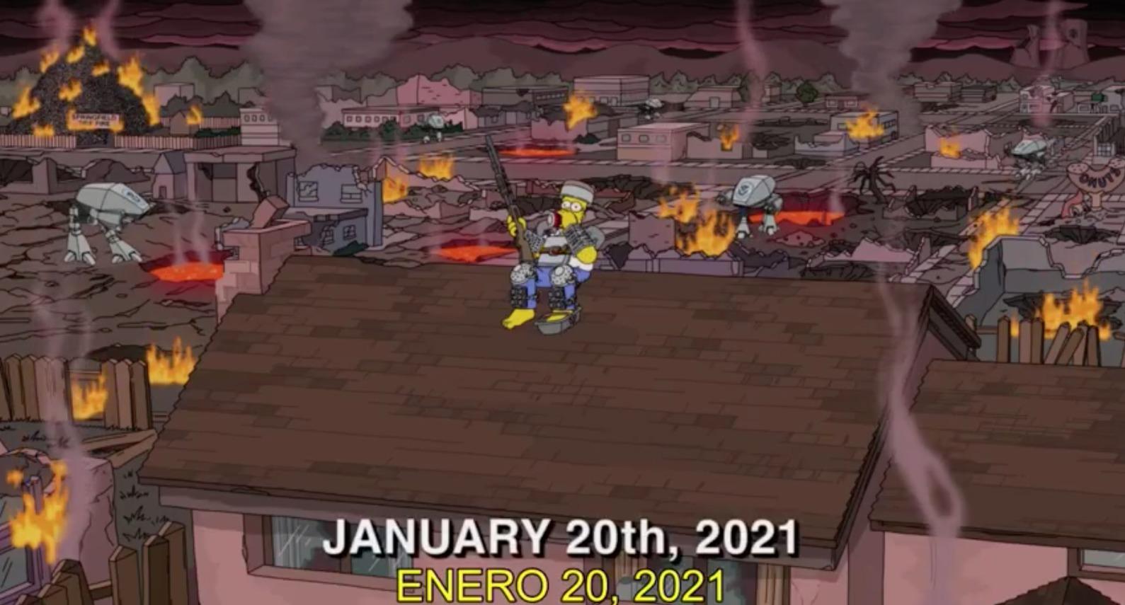 Los Simpson Enero 2021