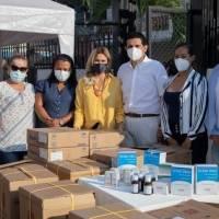 Prefecta Susana González favorece en salud a los habitantes de Balzar