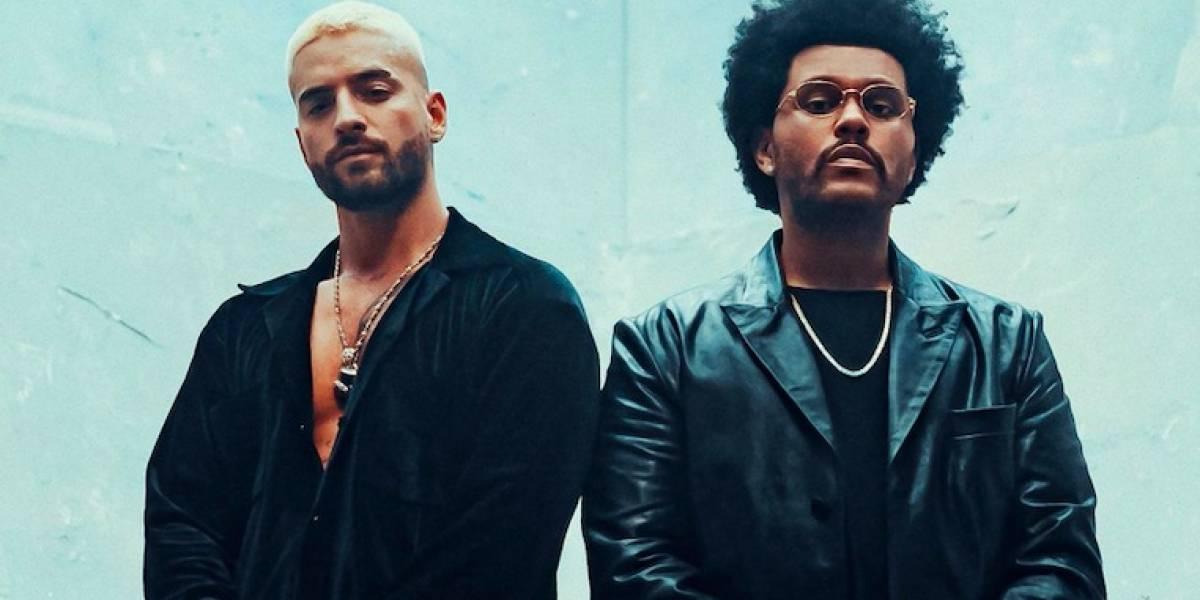 Maluma y The Weeknd se unen para hacer el remix de 'Hawái'