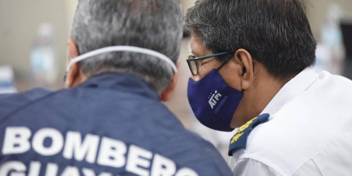 """Coordinador de Salud Zonal 8 dice que cifras de Guayaquil """"no están acorde a la realidad"""" y la Alcaldía responde"""