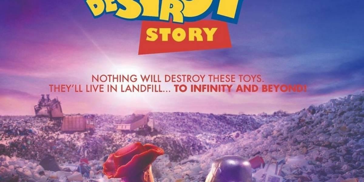 Parodias de Disney critican los juguetes de plástico desechables