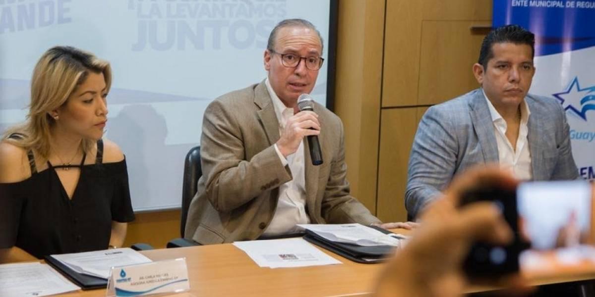 Compensación para usuarios afectados por corte de agua potable en Guayaquil