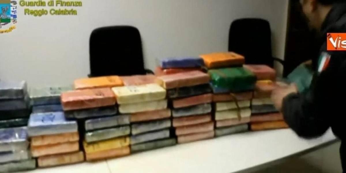Made in Chile: encuentran en Italia 932 kilos de cocaína en contenedor con choritos