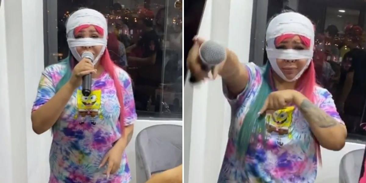 Por este video seguidores dicen que Yina Calderón está poniendo en riesgo su cirugía y su vida