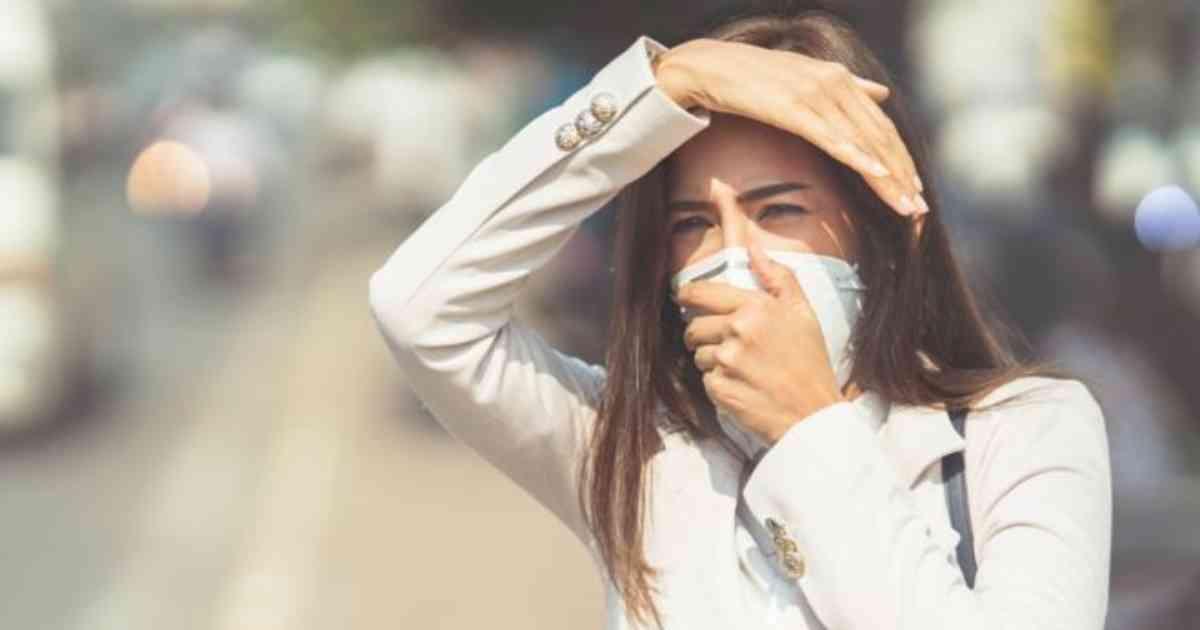 Coronavirus contaminación