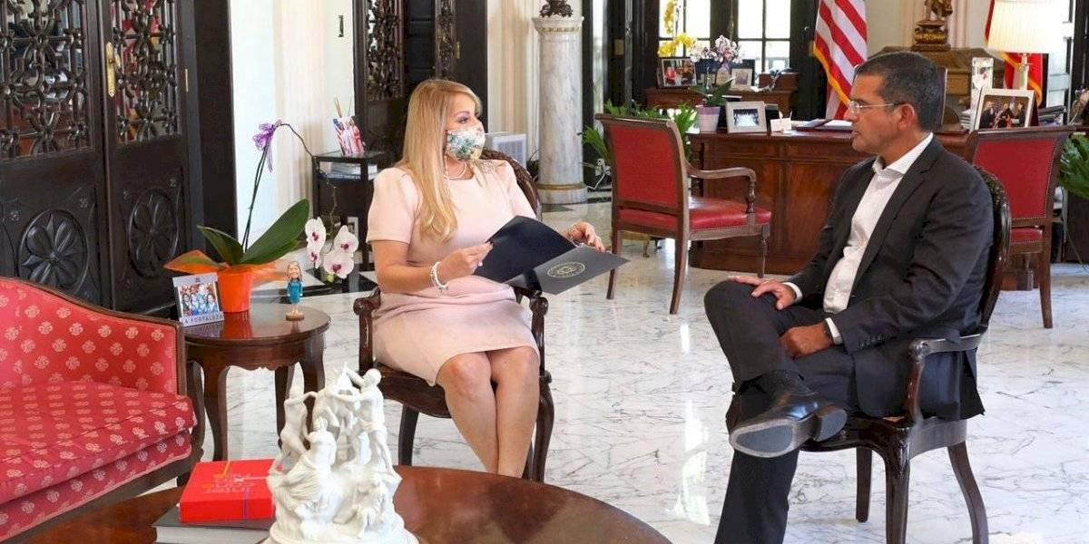 Gobernadora activa a la Guardia Nacional para la juramentación de Pierluisi