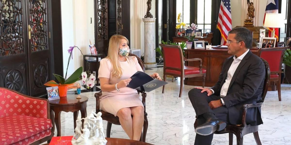 Silencio de Pierluisi sobre su gabinete a una semana de la elección