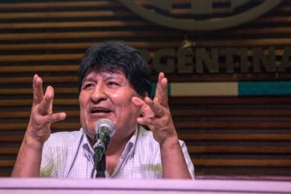 """Evo Morales y las elecciones en Estados Unidos: """"La única diferencia para mí es que Donald Trump es más racista-fascista"""""""