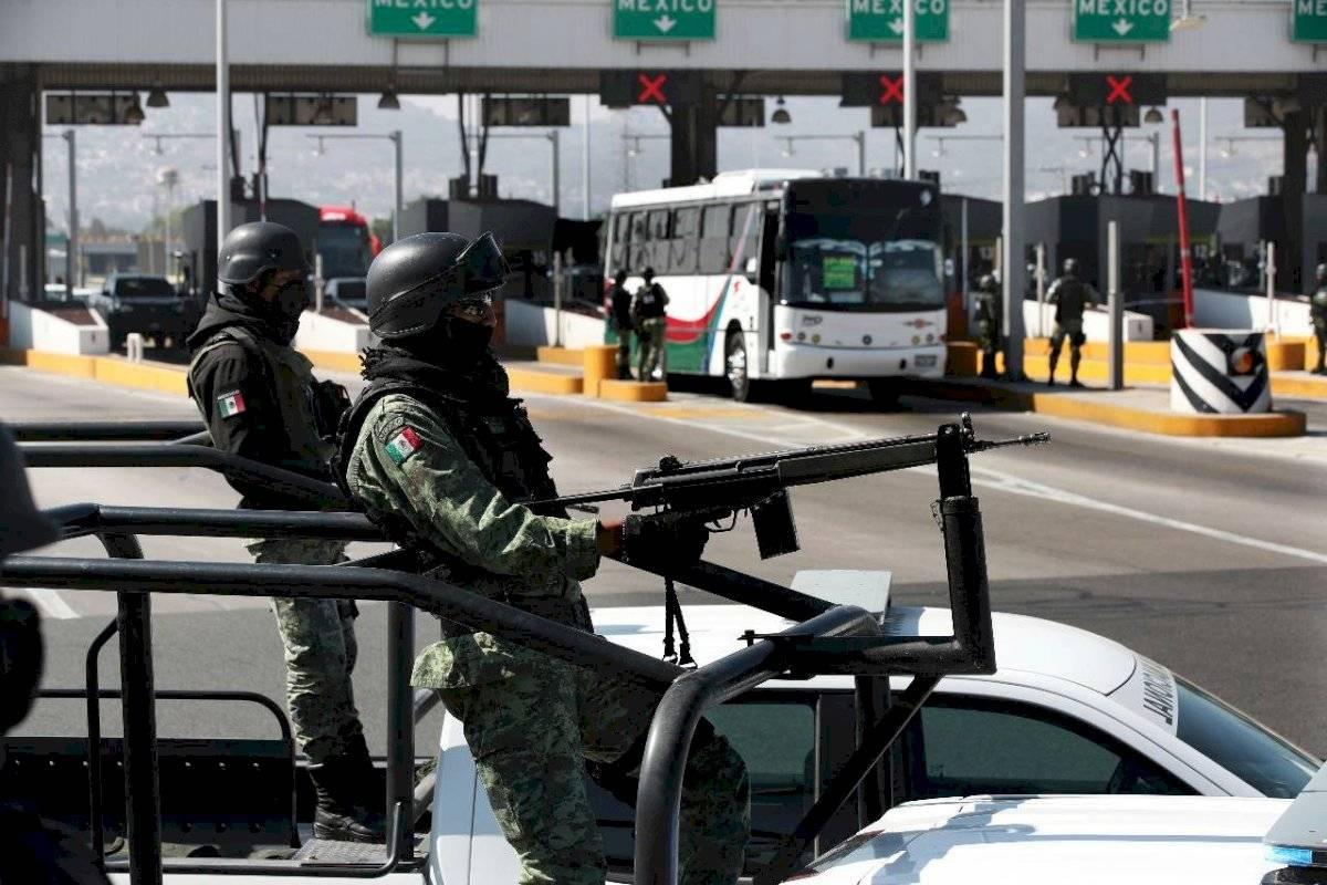 Guardia Nacional toma el control de casetas en el país