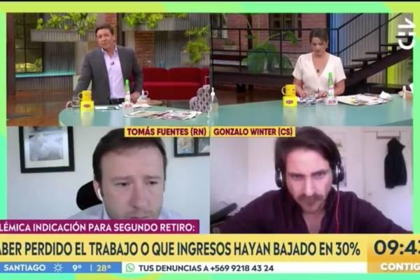 """""""Diputado, hablemos las cosas con la verdad"""": Julio César Rodríguez hace duro reproche a Tomás Fuentes por indicaciones al segundo retiro del 10%"""
