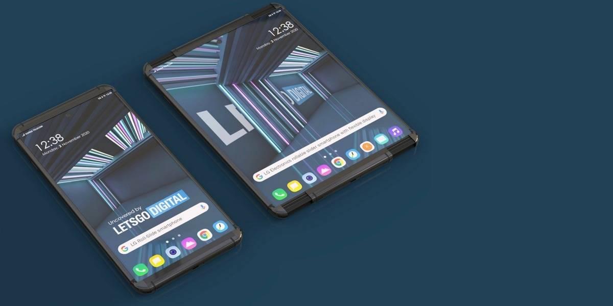 LG Rollable sería el nombre del smartphone plegable de LG que se enrolla