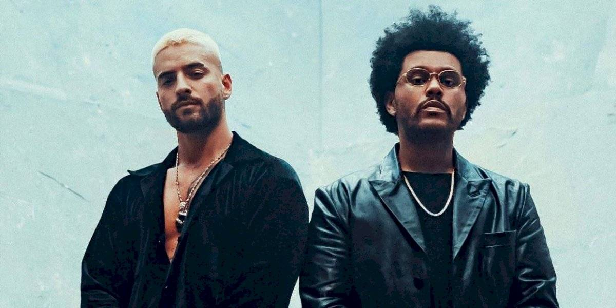 Todos los memes y reacciones que dejó The Weeknd al cantar en español con Maluma