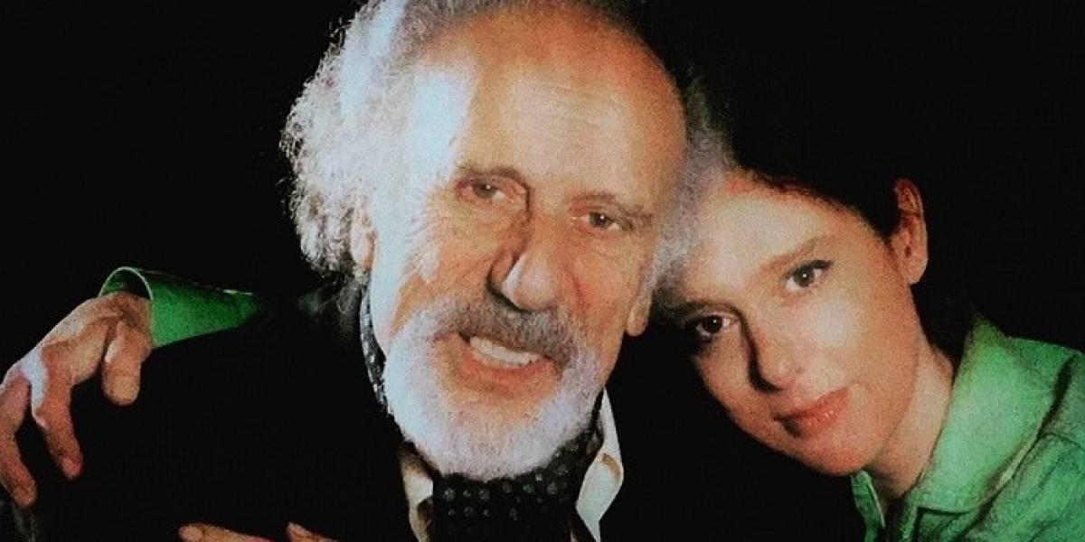 Paula Sharim publicó una emotiva foto junto a su fallecido padre Nissim Sharim