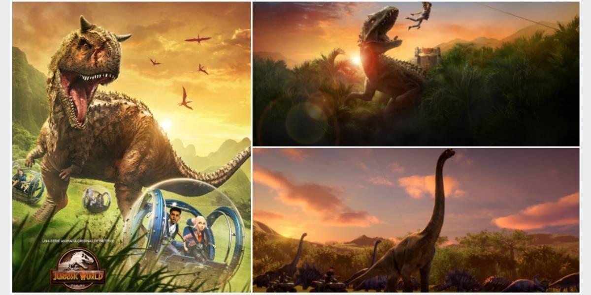 'Jurassic World: Campamento Cretácico', una serie donde los dinosaurios son protagonistas