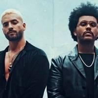 ¡Sorpresa! Así canta The Weeknd en español al unirse a Maluma en remix con video juntos