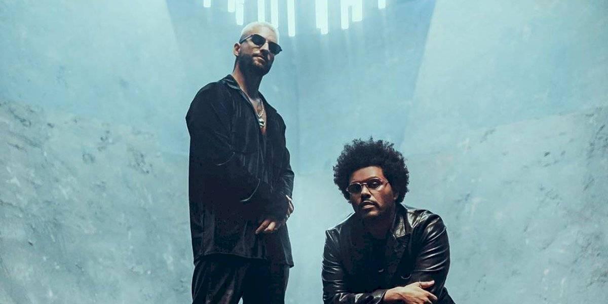 ¡Paren todo! Maluma compartió inédita colaboración con The Weeknd