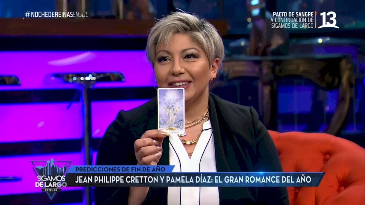 Vanessa Daroch sobre Pamela Díaz y Jean Philippe Cretton