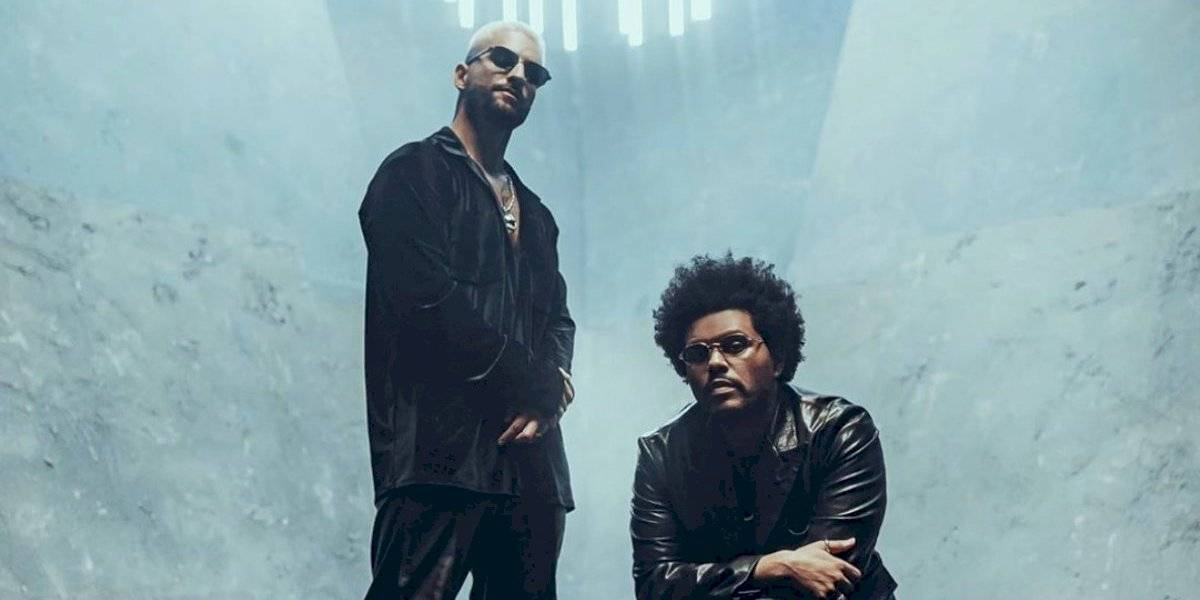 La rompen: Más de 8 millones de reproducciones del remix de Maluma con The Weeknd