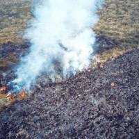 Parque Nacional Cayambe queda cerrado al turismo por incendios hasta próximo aviso